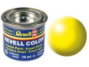 Revell - Barva emailová 14ml - č. 312 hedvábná světle žlutá (luminous yellow silk), 32312