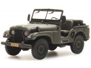 Artitec - Nekaf Jeep, Royal Dutch Army, Nizozemí, 1/87