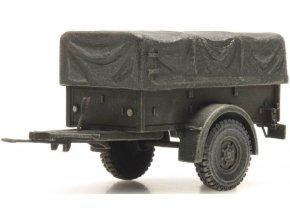 Artitec - Přívěs Polynorm 1 T, Royal Dutch Army, Nizozemí, 1/87