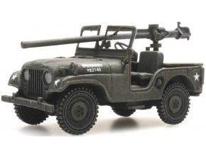 Artitec - M38 Jeep + 106mm AT Gun, US Army, 1/87