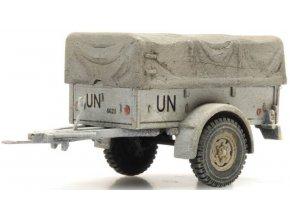 Artitec - Přívěs Polynorm 1 T, UNIFIL, 1/87
