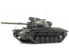 Artitec -  M48 A2 GA2, Gelboliv, Bundeswehr, Německo, 1/87