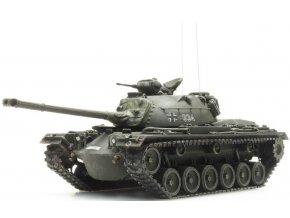 Artitec -  M48 A2, Gelboliv, Bundeswehr, Německo, 1/87