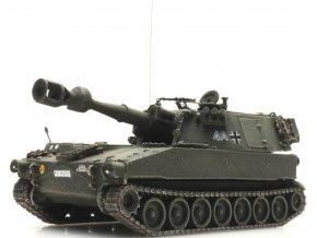 Artitec -  M109G, gelboliv, Bundeswehr, Německo, 1/87