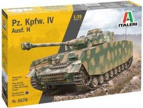 Italeri -  Pz. Kpfw. IV Ausf. H, Model Kit 6578, 1/35