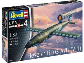 Revell - Fieseler Fi103 A/B V-1, Plastic ModelKit 03861, 1/32