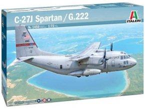 Italeri -  C-27A Spartan / G.222, Model Kit 1450, 1/72