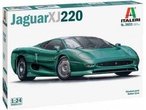 Italeri - Jaguar XJ 220, Model Kit 3631, 1/24