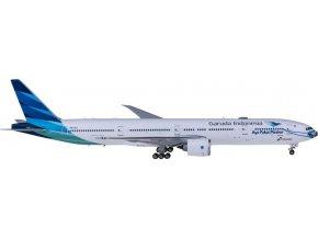 Phoenix - Boeing B777-300ER, dopravce Garuda Indonesia Mask 5, Indonésie, 1/400