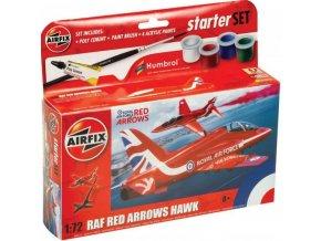 Airfix - Red Arrows Hawk, Starter Set A55002, 1/72
