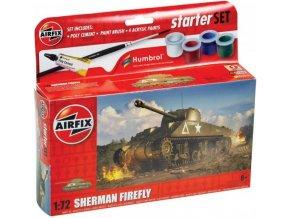 Airfix - Sherman Firefly, Starter Set tank A55003, 1/72