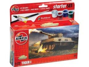 Airfix - Tiger 1, Starter Set A55004, 1/72