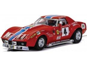 SCALEXTRIC - Chevrolet Corvette L88 - LeMans 1972 - NART, Autíčko GT SCALEXTRIC C4215, 1/32