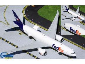 Gemini - Boeing 777-200LRF, společnost FedEx Express N888FD (Interactive Series), USA, 1/200