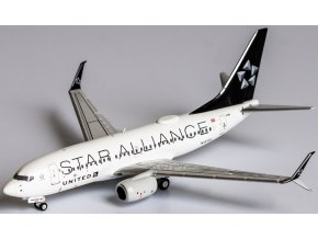NG Model - Boeing B737-700, dopravce United Airlines, Star Alliance, USA, 1/400