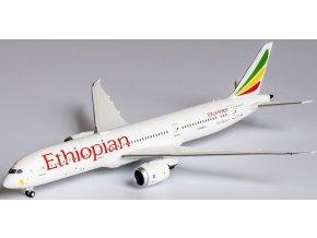 """NG Model -Boeing B787-9 Dreamliner, dopravce Ethiopian Airlines ET-AUP named """"London"""", Etiopie, 1/400"""