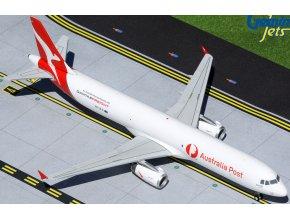"Gemini - Airbus A321 P2F, společnost Qantas Freight (""Australia Post"" titles), Austrálie, 1/200"