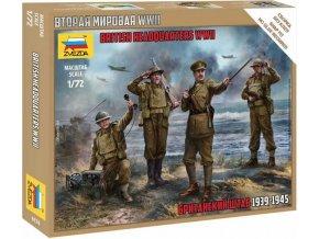 Zvezda - British Headquarter, Wargames (WWII) figurky 6174, 1/72