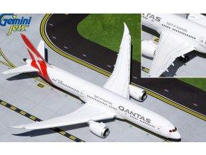 Gemini - Boeing B787-9 Dreamliner, společnost Qantas VH-ZNK (klapky dolů), Austrálie, 1/200