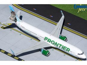 """Gemini - Airbus A321-211(WL), společnost Frontier Airlines """"Virginia the Wolf"""" N704FR, USA, 1/200"""