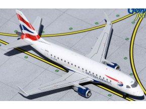 "Gemini - Embraer ERJ170 (ERJ-170-100), společnost British Airways CityFlyer, G-LCYG, BA Cityflyer, ""United Kingdom-Union Jack"" Co, VB, 1/400"
