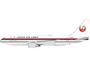 J Fox - Boeing B767-200, společnost JAL Japan Air Lines Polished JA8233, Japonsko, 1/200