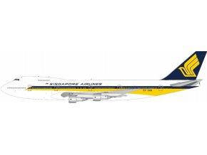 WB Models - Boeing 747-200B, společnost Singapore Airlines 9V-SQQ, Singapur, 1/200