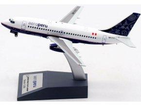 El Aviador Models - Boeing B737-200, dopravce AeroPerú, Peru, 1/200