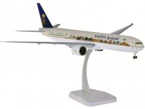 """Hogan - Boeing B777-300ER, společnost Saudia """"Saudi Arabia Famous Landmarks"""", Saudská Arábie, 1/200"""