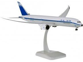 Hogan - Boeing B787-9 Dreamliner, společnost El Al Israel Retro, Izrael, 1/200