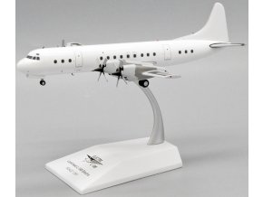 JC Wings - Lockheed L188 Electra, Blank - čistě bílé letadlo bez polepu, 1/200