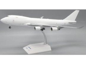 JC Wings - Boeing B747-400F, Blank - čistě bílé letadlo bez polepu, 1/200