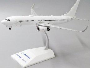 JC Wings - Boeing B737-800, Blank - čistě bílé letadlo bez polepu, 1/200