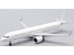JC Wings - Airbus A321SL, Blank - čistě bílé letadlo bez polepu, 1/400