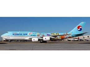 "JC Wings - Boeing B747-8i, dopravce Korean Air, ""11th Children's Drawing Contest Livery"", Jižní Korea, 1/200"