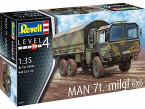 Revell - MAN 7t Milgl, Plastic ModelKit 03291, 1/35