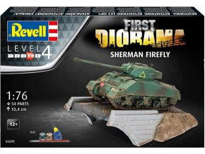 Revell - Sherman Firefly, Gift-Set diorama 03299 - 1/76