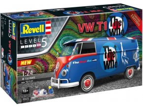 """Revell - VW T1 """"The Who"""", Gift-Set auto 05672, 1/24"""