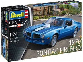 Revell - 1970 Pontiac Firebird, ModelSet 67672, 1/24