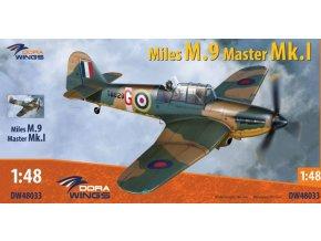 Dora Wings - Miles M9 Master MkI, ModelSet DW48033, 1/48