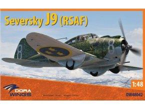 Dora Wings - Seversky J9 (Swedish AF), ModelSet DW48042, 1/48