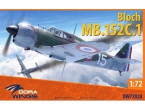 Dora Wings - Bloch MB152C-1, ModelSet DW72028, 1/72