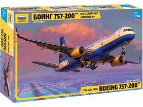 Zvezda - Boeing 757-200, Model Kit 7032,  1/144