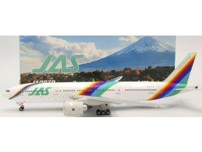 "Phoenix - Boeing  B777-200, dopravce JAS Japan Air System ""Rainbow"" JA007D, Japonsko, 1/400"