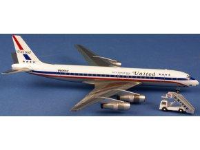 AeroClassic - Douglas DC-8-52, dopravce United Airlines N8065U +stair1, USA, 1/200