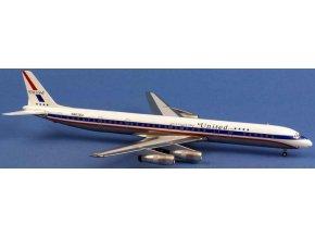 AeroClassic - Douglas DC-8-61, dopravce United Airlines N8078U, USA, 1/200