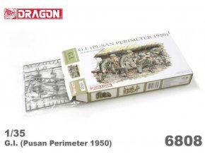 Dragon - G.I. (PUSAN PERIMETER 1950), Model Kit 6808, 1/35