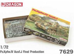 Dragon -  Pz.Kpfw.IV Ausf.J Final Production, Model Kit 7629, 1/72