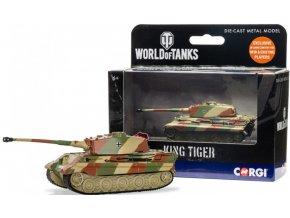 Corgi - King Tiger Tank, World of Tanks, Německo