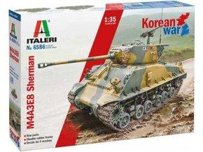 Italeri - M4A3E8 Sherman Korean War, Model Kit 6586, 1/35
